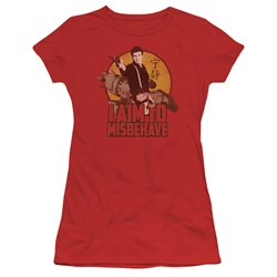Firefly - Juniors I Aim To Misbehave T-Shirt