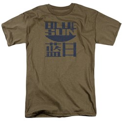 Firefly - Mens Blue Sun Logo T-Shirt
