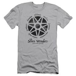 American Horror Story - Mens Seven Wonders Premium Slim Fit T-Shirt