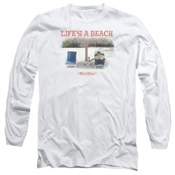 Office Space - Mens Lifes A Beach Long Sleeve T-Shirt