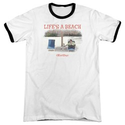 Office Space - Mens Lifes A Beach Ringer T-Shirt