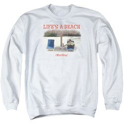 Office Space - Mens Lifes A Beach Sweater