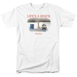 Office Space - Mens Lifes A Beach T-Shirt