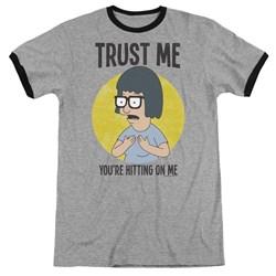Bobs Burgers - Mens Trust Me Ringer T-Shirt