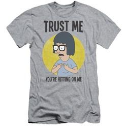 Bobs Burgers - Mens Trust Me Slim Fit T-Shirt