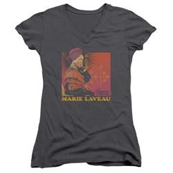 American Horror Story - Juniors Genuine Lucky Charm V-Neck T-Shirt