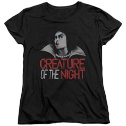 Rocky Horror Picture Show - Womens Creature Of The Night T-Shirt