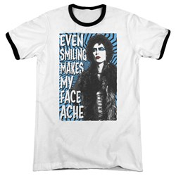 Rocky Horror Picture Show - Mens Face Ache Ringer T-Shirt