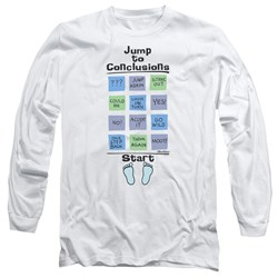 Office Space - Mens Jump To Conclusions Long Sleeve T-Shirt