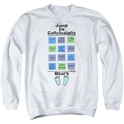 Office Space - Mens Jump To Conclusions Sweater