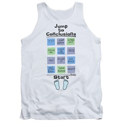 Office Space - Mens Jump To Conclusions Tank Top