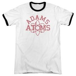 Revenge Of The Nerds - Mens Adams Atoms Ringer T-Shirt