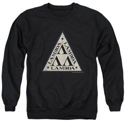 Revenge Of The Nerds - Mens Tri Lambda Logo Sweater