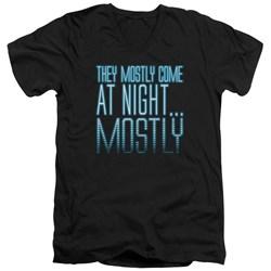 Aliens - Mens Mostly V-Neck T-Shirt