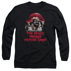 Rocky Horror Picture Show - Mens Casting Throne Long Sleeve T-Shirt