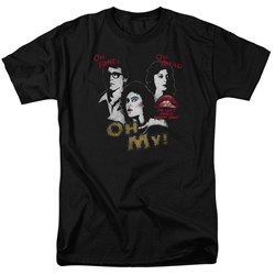 Rocky Horror Picture Show - Mens Oh 3 Ways T-Shirt