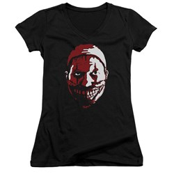 American Horror Story - Juniors The Clown V-Neck T-Shirt