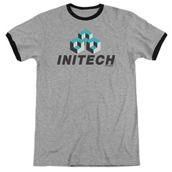 Office Space - Mens Initech Logo Ringer T-Shirt