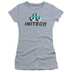 Office Space - Juniors Initech Logo T-Shirt