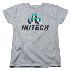 Office Space - Womens Initech Logo T-Shirt