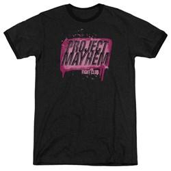 Fight Club - Mens Project Mayhem Ringer T-Shirt