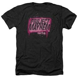 Fight Club - Mens Project Mayhem Heather T-Shirt
