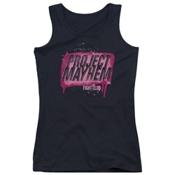 Fight Club - Juniors Project Mayhem Tank Top