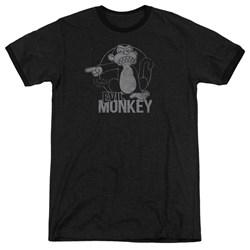 Family Guy - Mens Evil Monkey Ringer T-Shirt