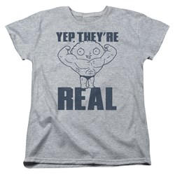 Family Guy - Womens Real Build T-Shirt