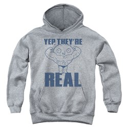 Family Guy - Youth Real Build Pullover Hoodie
