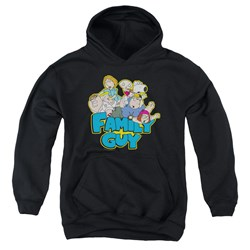 Family Guy - Youth Family Fight Pullover Hoodie