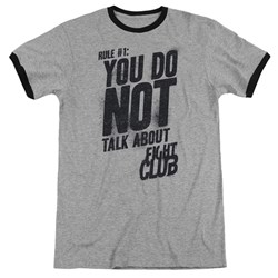 Fight Club - Mens Rule 1 Ringer T-Shirt