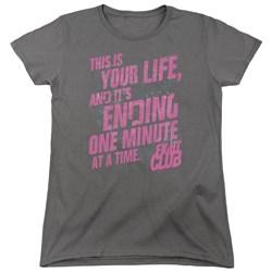 Fight Club - Womens Life Ending T-Shirt