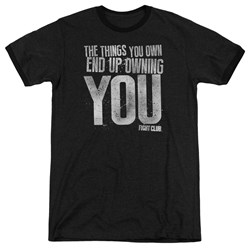 Fight Club - Mens Owning You Ringer T-Shirt