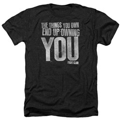 Fight Club - Mens Owning You Heather T-Shirt