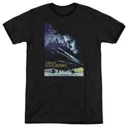 Edward Scissorhands - Mens Poster Ringer T-Shirt