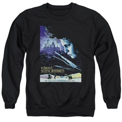 Edward Scissorhands - Mens Poster Sweater