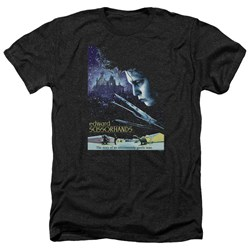 Edward Scissorhands - Mens Poster Heather T-Shirt