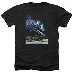 Edward Scissorhands - Mens Poster Heather T-Shirt