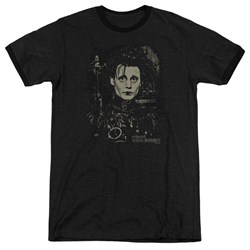 Edward Scissorhands - Mens Edward Ringer T-Shirt