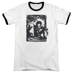 Edward Scissorhands - Mens Lucky Dog Ringer T-Shirt