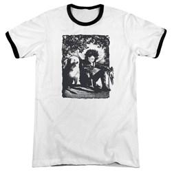 Edward Scissorhands - Mens Lucky Dog Ringer T-Shirt