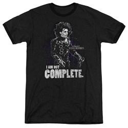 Edward Scissorhands - Mens Not Complete Ringer T-Shirt