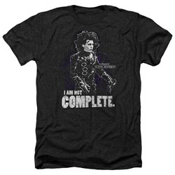 Edward Scissorhands - Mens Not Complete Heather T-Shirt