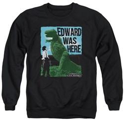 Edward Scissorhands - Mens Edward Was Here Sweater
