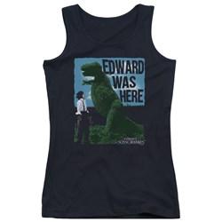 Edward Scissorhands - Juniors Edward Was Here Tank Top