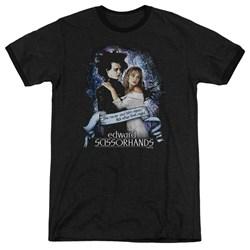 Edward Scissorhands - Mens That Night Ringer T-Shirt