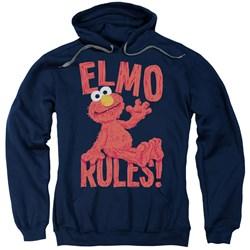 Sesame Street - Mens Elmo Rules Pullover Hoodie