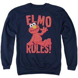 Sesame Street - Mens Elmo Rules Sweater