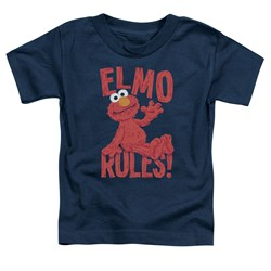 Sesame Street - Toddlers Elmo Rules T-Shirt